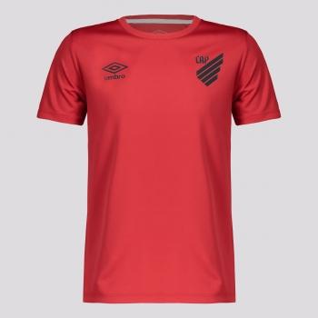 Camisa Umbro Athletico Paranaense Basic Juvenil Vermelha