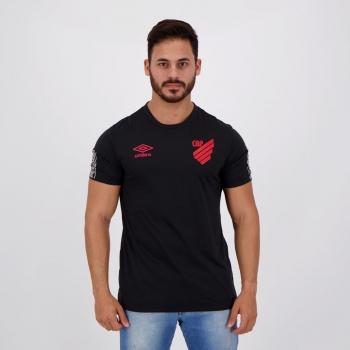 Camisa Umbro Athletico Paranaense Concentração 2020 Preta