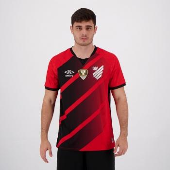 Camisa Umbro Athletico Paranaense I 2020 Campeão Copa do Brasil 2019