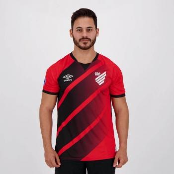 Camisa Umbro Athletico Paranaense I 2020 Sul-Americana 2021