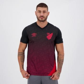 Camisa Umbro Athletico Paranaense Treino 2020 Preta