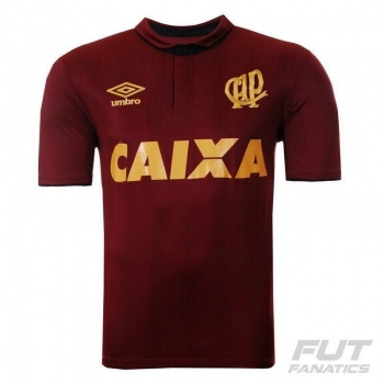 Camisa Umbro Atlético Paranaense 90 Anos Vinho