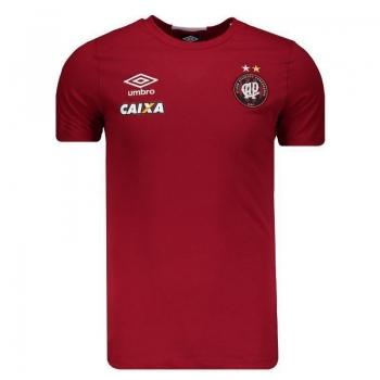 Camisa Umbro Atlético Paranaense Concentração 2016 Vermelha