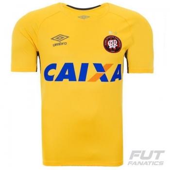 Camisa Umbro Atlético Paranaense Goleiro 2015 Amarela