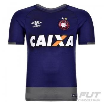 Camisa Umbro Atlético Paranaense Goleiro 2016 Marinho