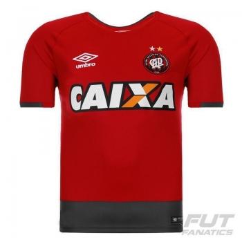 Camisa Umbro Atlético Paranaense Goleiro 2016 Vinho