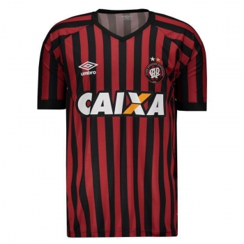 Camisa Umbro Atlético Paranaense I 2015 com Patrocínio