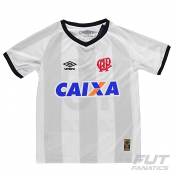 Camisa Umbro Atlético Paranaense II 2015 Infantil