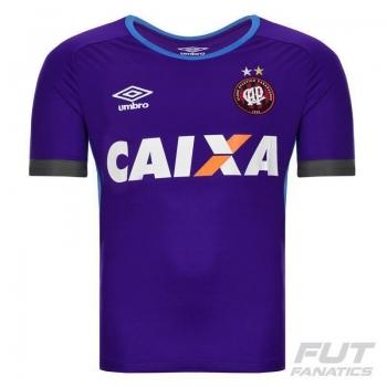 Camisa Umbro Atlético Paranaense Treino 2016 Roxa