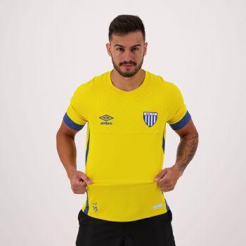 Camisa Umbro AvaÍ Goleiro 2018 Amarela