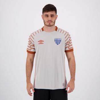 Camisa Umbro Avaí Goleiro 2021 Cinza