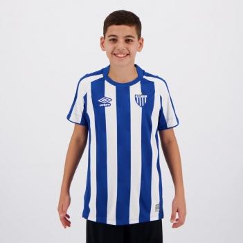 Camisa Umbro Avaí I 2021 Juvenil