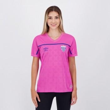 Camisa Umbro Avaí Outubro Rosa 2020 Feminina