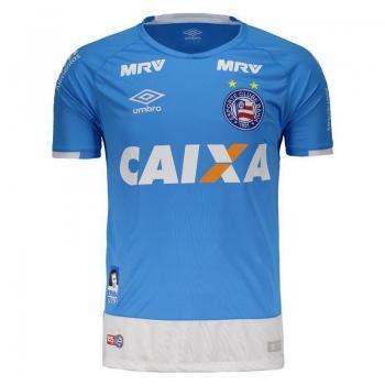 Camisa Umbro Bahia Goleiro 2016 Azul