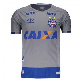 Camisa Umbro Bahia Goleiro 2016 Cinza
