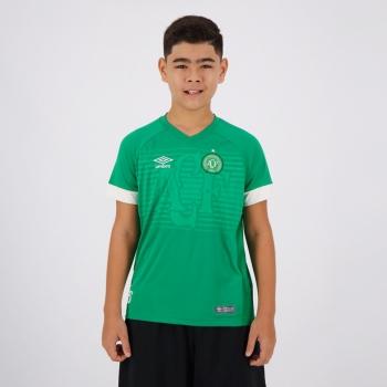 Camisa Umbro Chapecoense I 2018 Juvenil