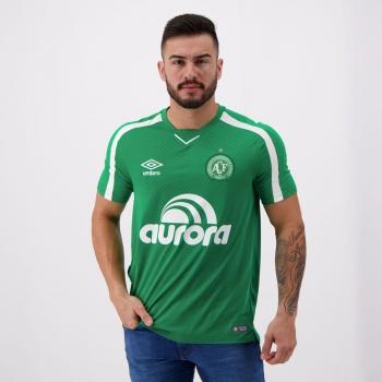 Camisa Umbro Chapecoense I 2019 Com Patrocínio