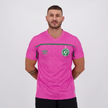 Camisa Umbro Chapecoense Outubro Rosa 2020
