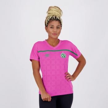 Camisa Umbro Chapecoense Outubro Rosa 2020 Feminina