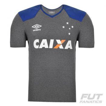 Camisa Umbro Cruzeiro Aquecimento 2016