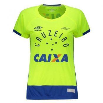 Camisa Umbro Cruzeiro Goleiro 2016 Feminina 1 Fábio