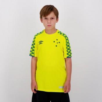 Camisa Umbro Cruzeiro Goleiro 2019 Juvenil