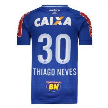 Camisa Umbro Cruzeiro I 2017 Jogador 30 Thiago Neves