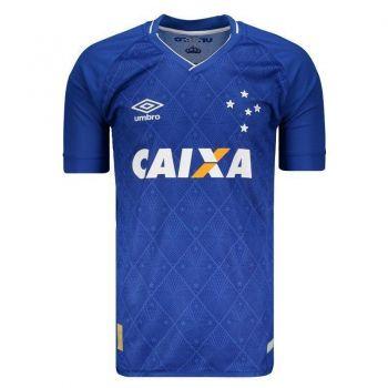 Camisa Umbro Cruzeiro I 2017 Nº 10 Jogador