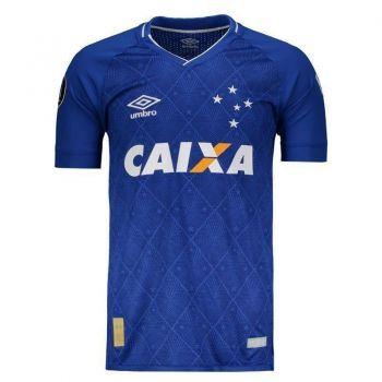 Camisa Umbro Cruzeiro I 2017 Libertadores