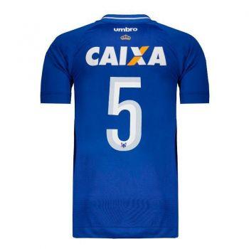 Camisa Umbro Cruzeiro I 2017 Número 5