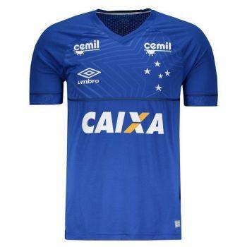 Camisa Umbro Cruzeiro I 2018 com Patrocínio