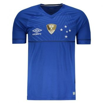Camisa Umbro Cruzeiro I 2018 com Patch