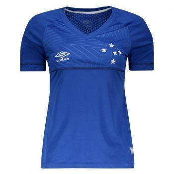 Camisa Umbro Cruzeiro I 2018 Feminina