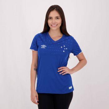 Camisa Umbro Cruzeiro I 2019 Feminina