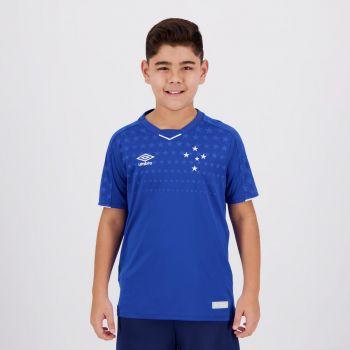 Camisa Umbro Cruzeiro I 2019 Juvenil