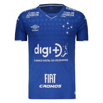 Camisa Umbro Cruzeiro I 2019 Libertadores