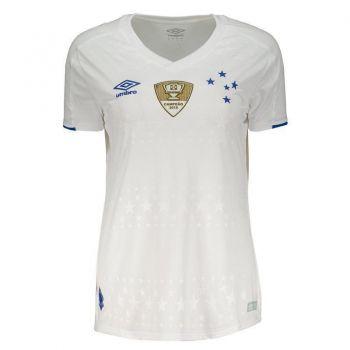 Camisa Umbro Cruzeiro II 2019 Feminina Patch Copa do Brasil
