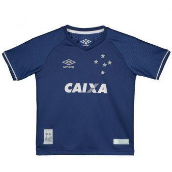 Camisa Umbro Cruzeiro III 2017 Infantil