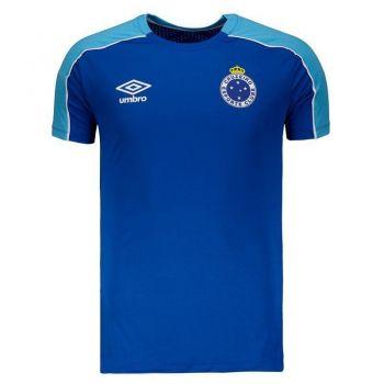 Camisa Umbro Cruzeiro Treino 2019 Royal