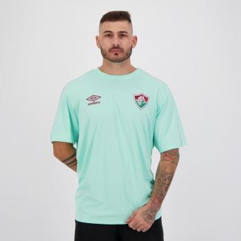Camisa Umbro Fluminense Concentração 2021 Verde