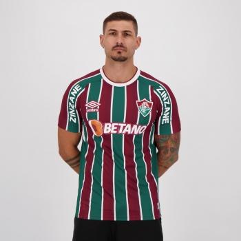 Camisa Umbro Fluminense I 2021 Com Patrocínio