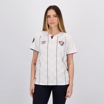 Camisa Umbro Fluminense II 2020 Feminina Libertadores