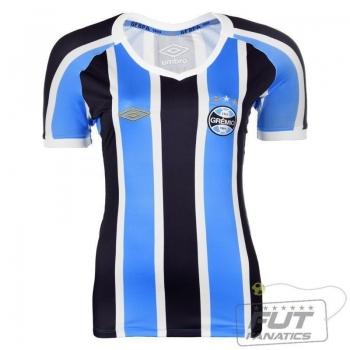 Camisa Umbro Grêmio I 2015 Feminina