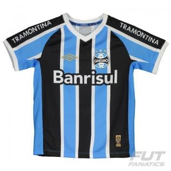Camisa Umbro Grêmio I 2015 Infantil
