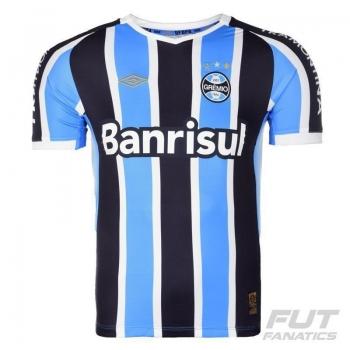 Camisa Umbro Grêmio I 2015 Sem Número
