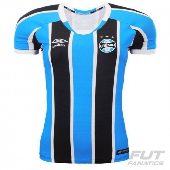 Camisa Umbro Grêmio I 2016 Feminina