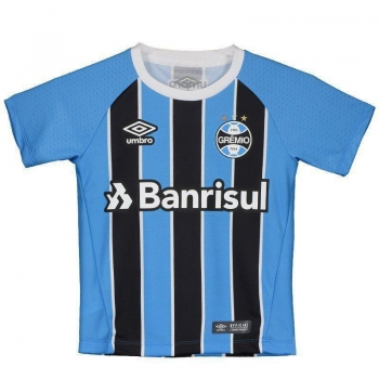 Camisa Umbro Grêmio I 2017 Infantil