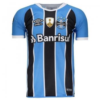 Camisa Umbro Grêmio I 2017 Libertadores sem Número