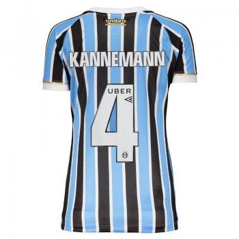 Camisa Umbro Grêmio I 2018 4 Kannemann Feminina
