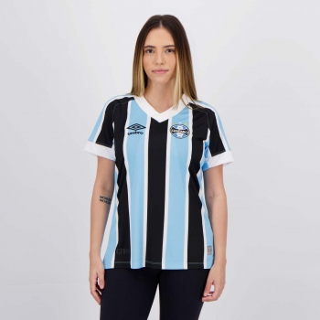 Camisa Umbro Grêmio I 2021 Feminina